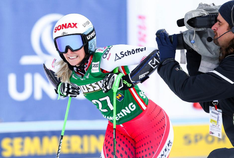 Eva Maria Brem ist nach ihrer schweren Verletzung nicht mehr richtig auf Touren gekommen.