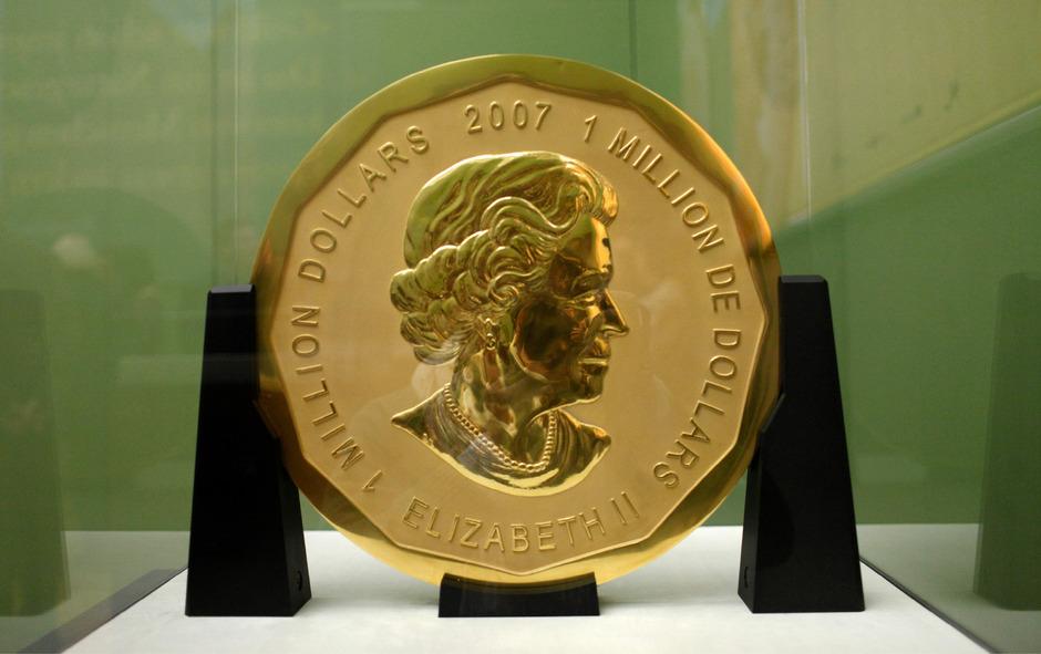 Gestohlene Goldmünze Alarmsicherung Am Einstiegsfenster War Defekt