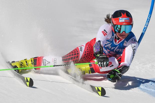 Ricarda Haaser fuhr erneut in die Top Ten.