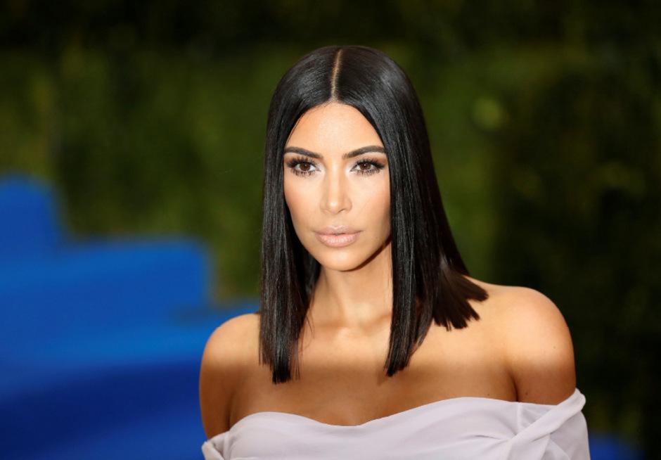 Reality-TV-Star Kim Kardashian.