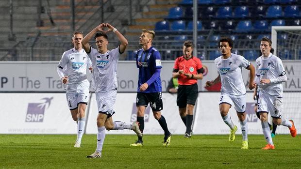 Christoph Baumgartner wurde bei Hoffenheim zu den Profis befördert und traf gleich im Vorbereitungsspiel.