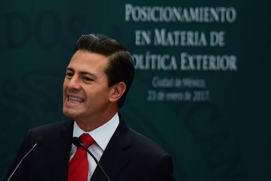 Der mexikanische Ex-Präsident Enrique Pena Nieto.