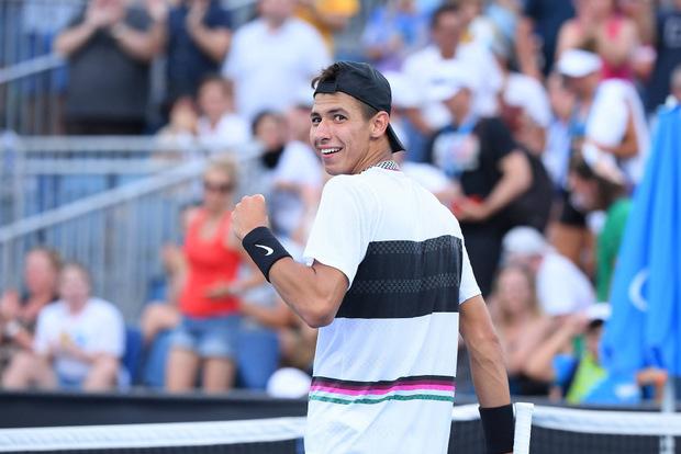 Der 19-jährige Alexei Popyrin ist Australiens größte Tennis-Hoffnung.