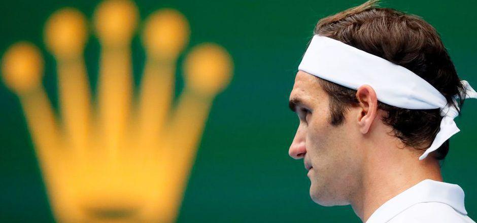 King Roger zog mit einem Dreisatz-Sieg gegen Daniel Evans in die nächste Runde ein.