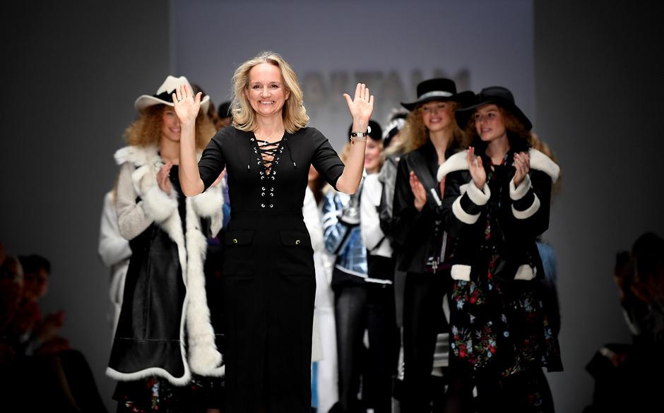 """Die Designerin Ulli Ehrlich präsentierte bei der """"Sportalm-Show"""" im E-Werk die Kollektion für Herbst/Winter 2019/2020."""