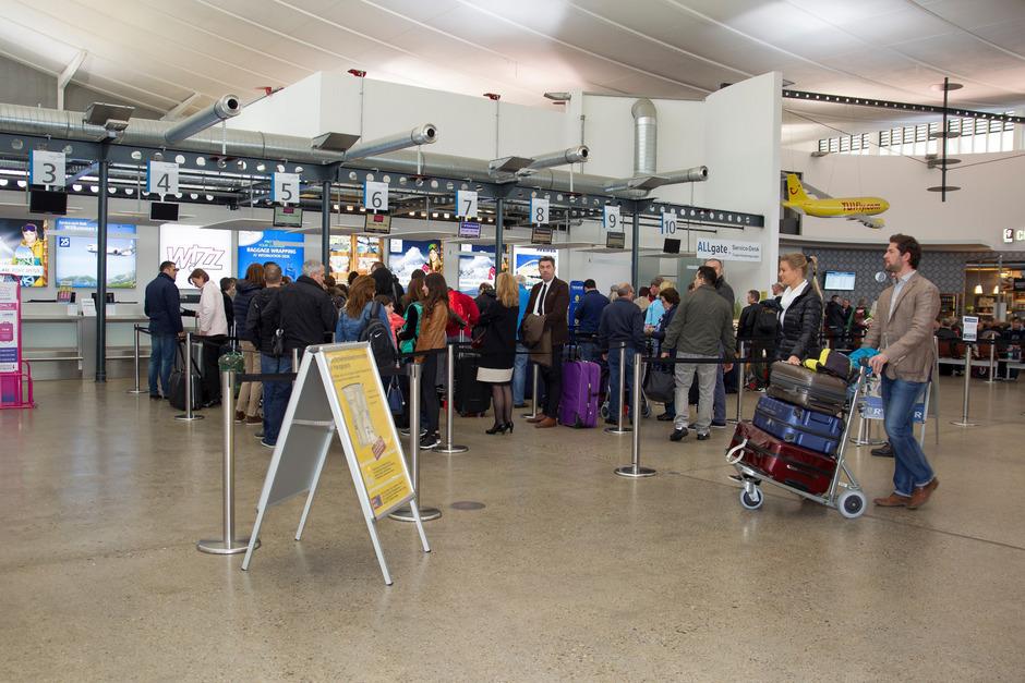Noch nie in der Geschichte des Flughafens sind so viele Passagiere in Memmingen gelandet und gestartet wie im Jahr 2018.