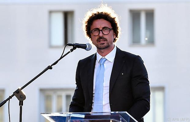 Italiens Verkehrsminister Danilo Toninelli.