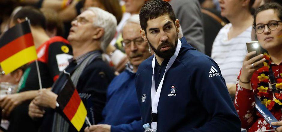 Gegen Deutschland saß Nikola Karabatic noch auf der Tribüne. Jetzt greift der Superstar doch noch ins Turnier ein.