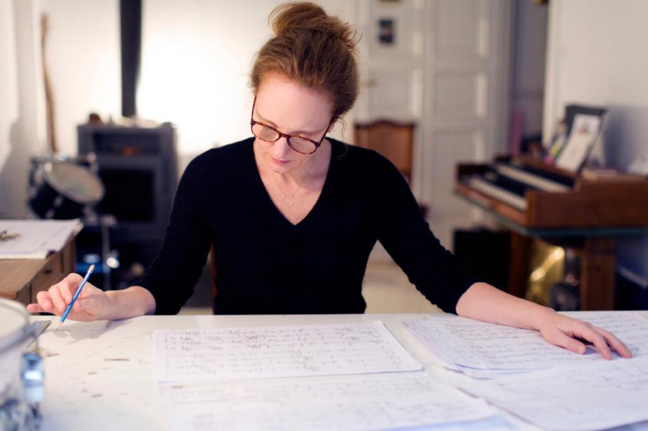 2018 war Rebecca Saunders Gast der Schwazer Klangspuren. Nun erhält sie den Siemens-Musikpreis.