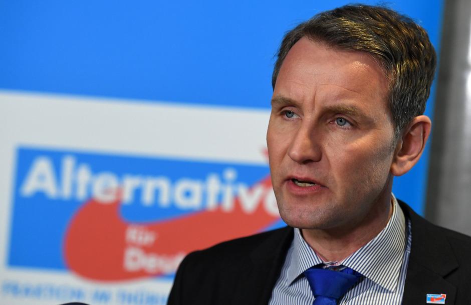 """Die rechtsnationale Vereinigung Der Flügel um den Thüringer AfD-Vorsitzenden Björn Höcke gilt beim Verfassungsschutz als """"extremistische Bestrebung""""."""