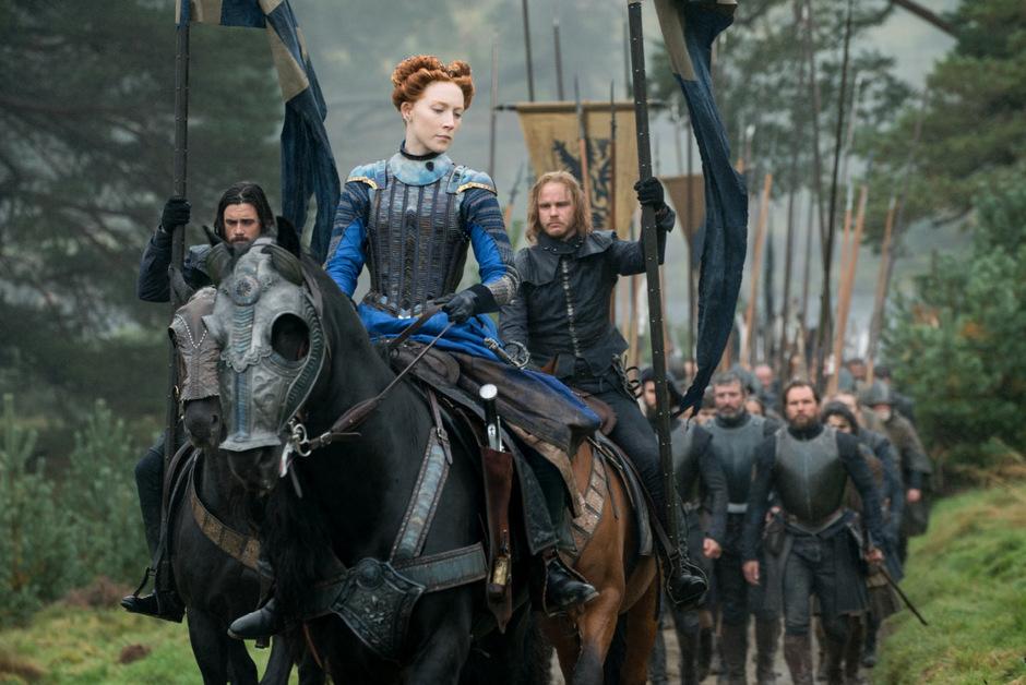 Saoirse Ronan als Königin Maria Stuart, die nicht zuletzt an den intriganten Kleingeistern in ihrem Umfeld scheiterte.
