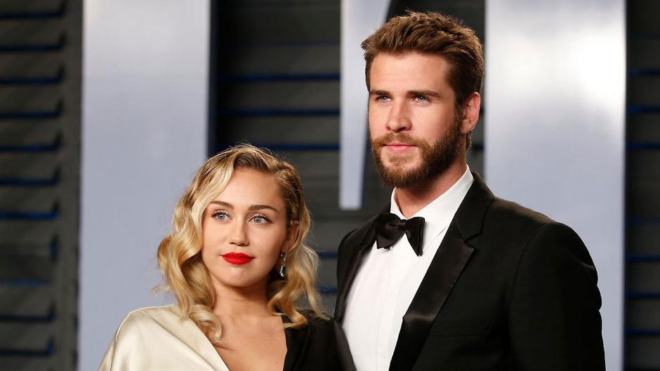 Miley Cyrus und Liam Hemsworth waren 2012 schon einmal verlobt.