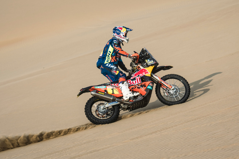 Matthias Walkner konnte sich noch auf den zweiten Platz verbessern.
