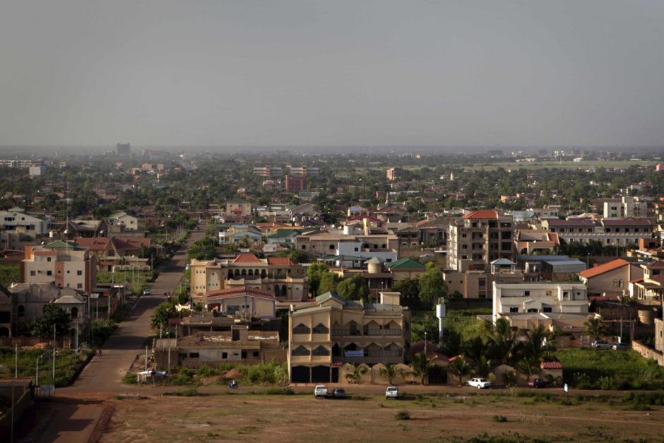 Die Hauptstadt von Burkina Faso: Ouagadougou.