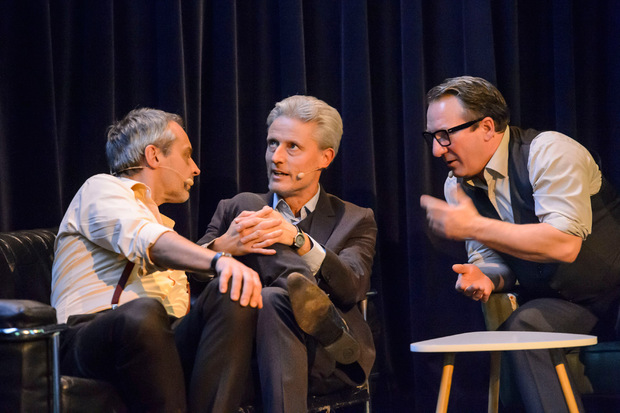 Florian Scheuba, Robert Palfrader und Thomas Maurer.