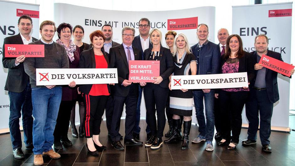 Das war einmal: Die Innsbrucker ÖVP zerfällt wegen interner Machtkämpfe und ist zerrissen.