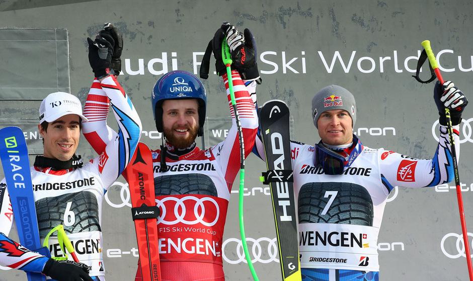 Marco Schwarz hielt der französischen Attack stand, verwies Victor Muffat-Jeandet und Alexis Pinturault auf die Ränge zwei und drei.