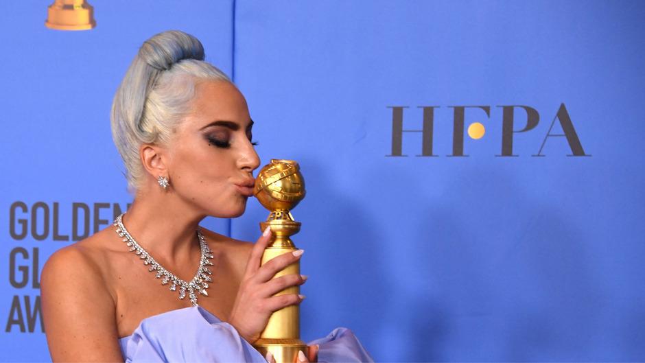 Lady Gaga gewann heuer bereits einen Golden Globe für den besten Filmsong, in der Kategorie beste Hauptdarstellerin ging sie jedoch leer aus.