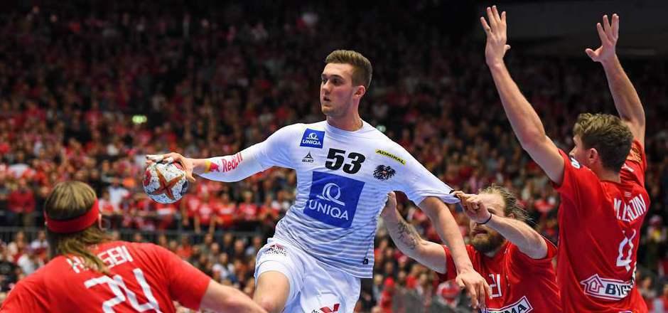 Der Angriff  von Nikola Bilyk und seinen ÖHB-Teamkollegen auf die Zwischenrunde wurde jäh gestoppt.