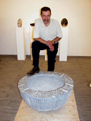 Kassian Erhart (1948–2018), Bildhauer aus Fließ/Piller.