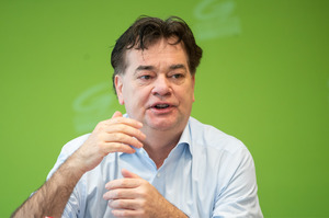 Der Grüne Bundessprecher Werner Kogler.