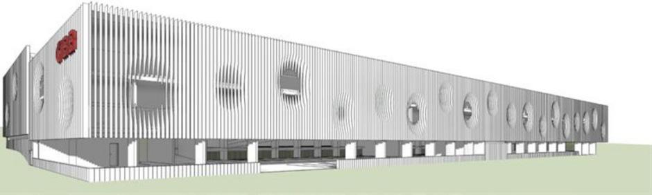 So soll das Parkhaus am Jenbacher Bahnhof dann ab Juni 2021 aussehen ? wenn nun alles rund läuft.
