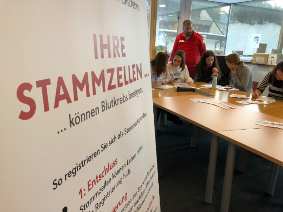 Im SOS-Kinderdorf Innsbruck fand gestern die erste Stammzellenspendeaktion des Roten Kreuzes Innsbruck statt.