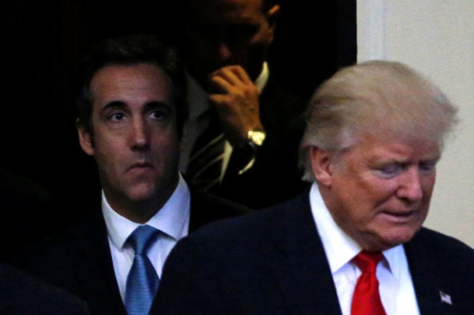 Trump und sein Ex-Anwalt Michael Cohen liefern sich einen öffentlichen Schlagabtausch.