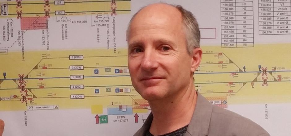 Martin Holleis, Leiter der ÖBB-Infrastruktur.