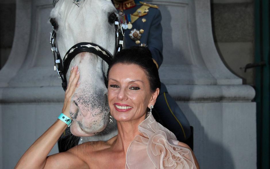 Sonja Klima ist die neue Leiterin der Spanischen Hofreitschule.