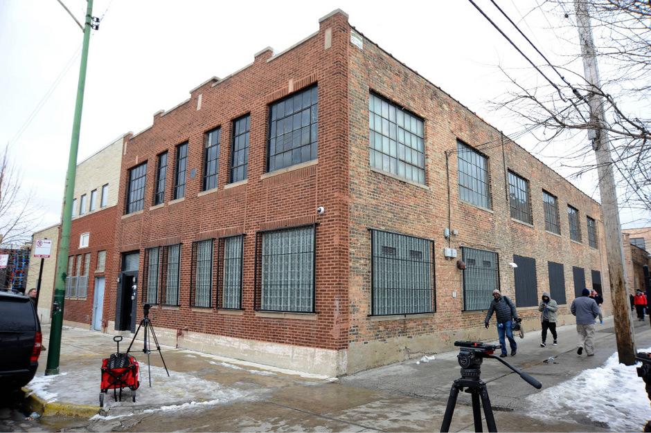Das Studio von R. Kelly in Chicago.