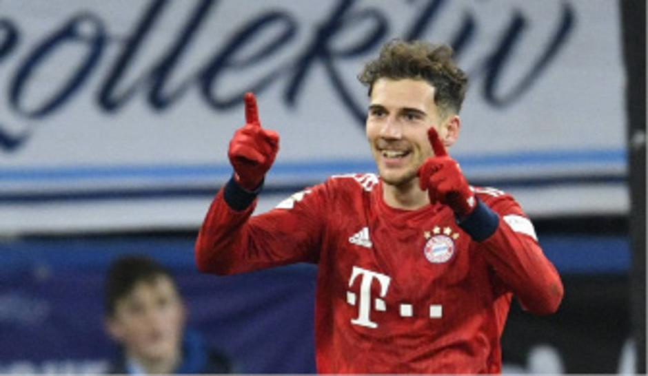 Mit zwei Treffern Bayern-Matchwinner: Leon Goretzka.