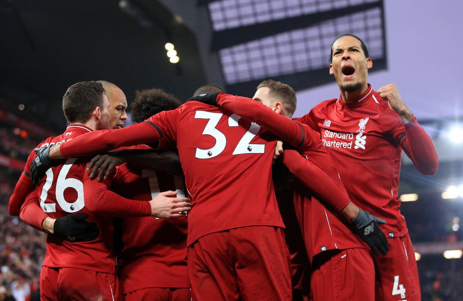 Der FC Liverpool jubelte über einen hart erkämpften Heimsieg.