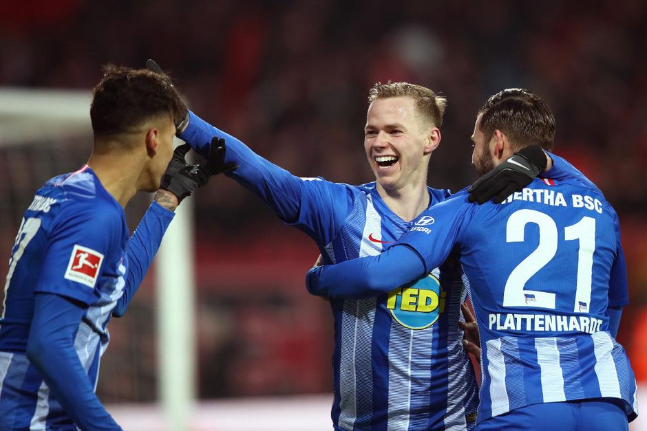 Ondrej Duda avancierte mit zwei Treffern zum Hertha-Matchwinner.
