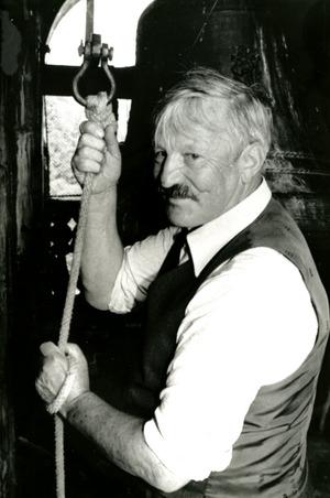 Der einstige Mesner Josef Neuhauser