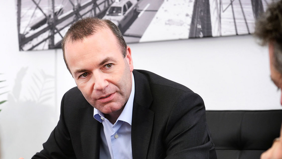 """""""Als Kommissionspräsident die Koordinierung besser in die Hand nehmen"""": EVP-Spitzenkandidat Manfred Weber."""
