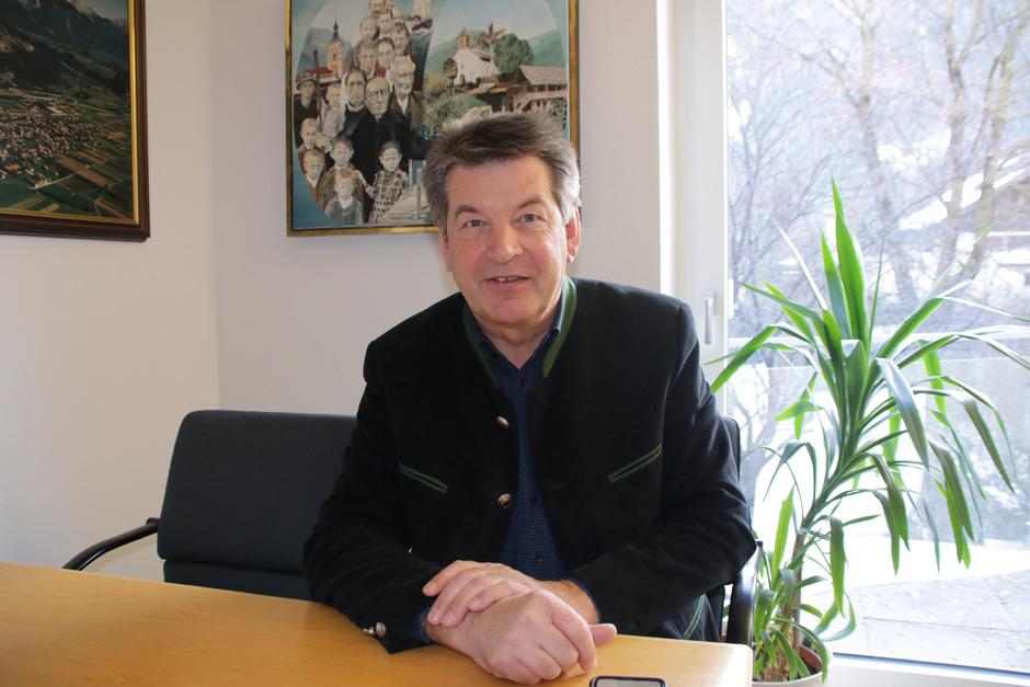 Helmut Dablander, Bürgermeister von Silz.