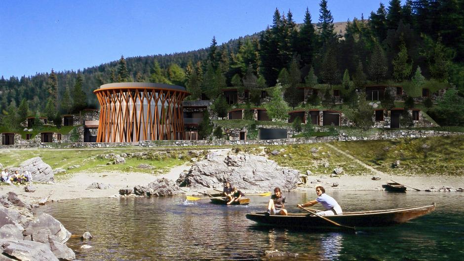 Geht es nach dem Letzturteil des Innsbrucker Oberlandesgerichtes, bleibt das Refugia Container-Hotel am Obernberger See für immer eine planerische Fiktion.