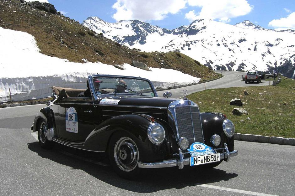 Die Kitzbüheler Alpenrallye findet heuer vom 5. bis 8. Juni statt. Die Königsetappe führt diesmal nach Salzburg.