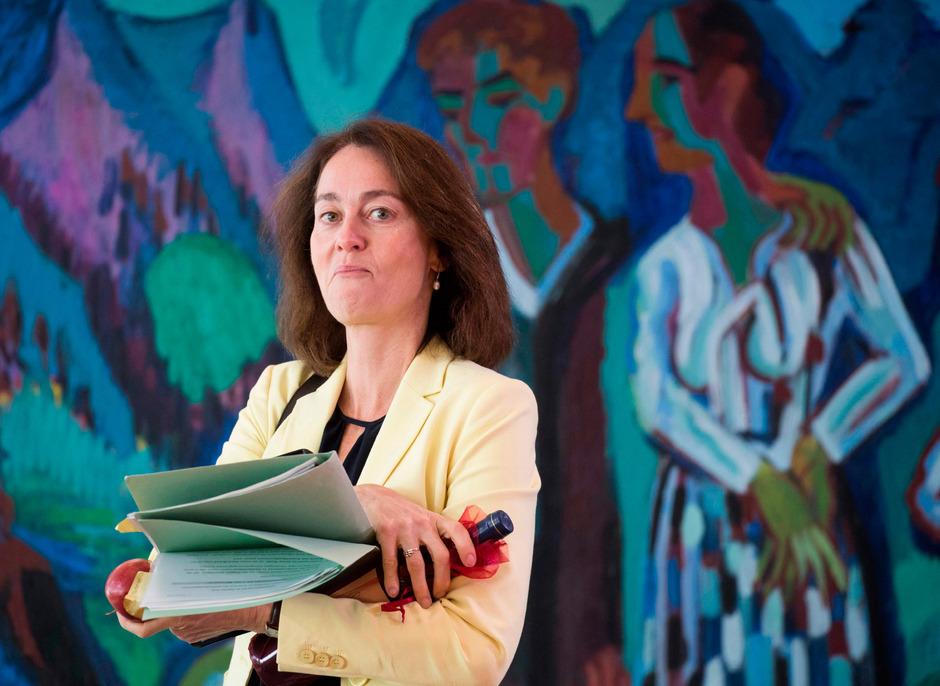 Die deutsche Justizministerin Katarina Barley.