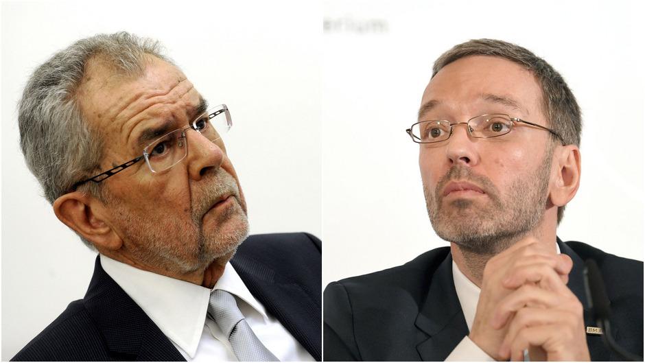 Mit deutlichen Worten kritisierte Bundespräsident Alexander Van der Bellen am Freitag die Äußerungen von Innenminister Herbert Kickl über die Europäische Menschenrechtskonvention.