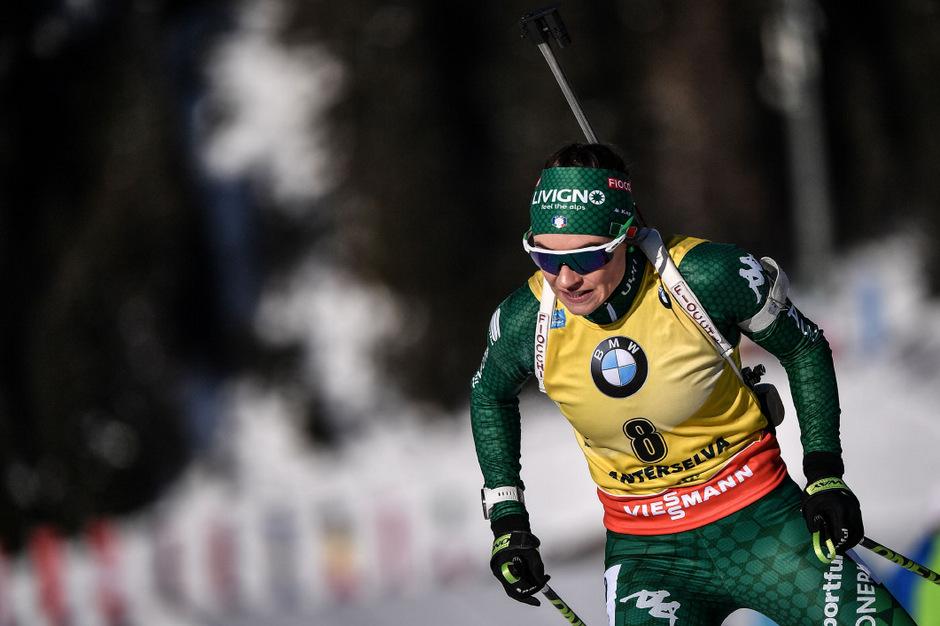 Dorothea Wierer ließ beim Heim-Weltcup nichts anbrennen.