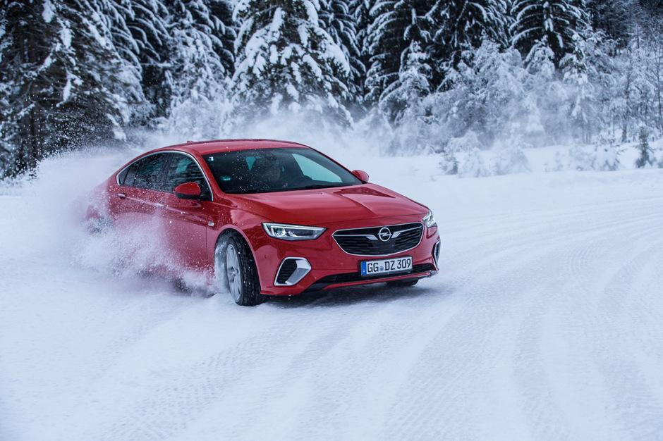 Opel-Modelle wie der Insignia sind winterfest.