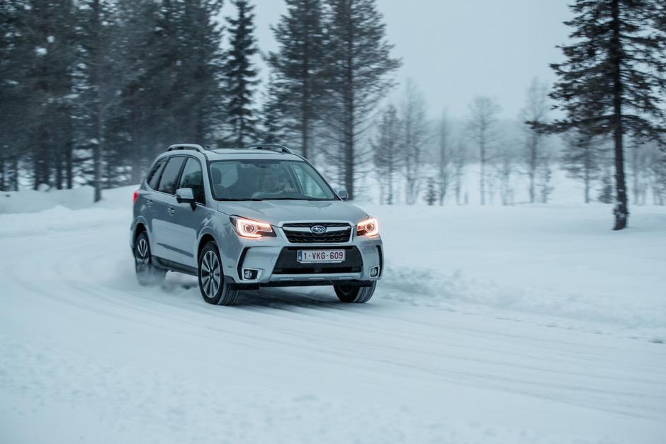 Sicher mit dem permanenten Allradantrieb: der Forester von Subaru.