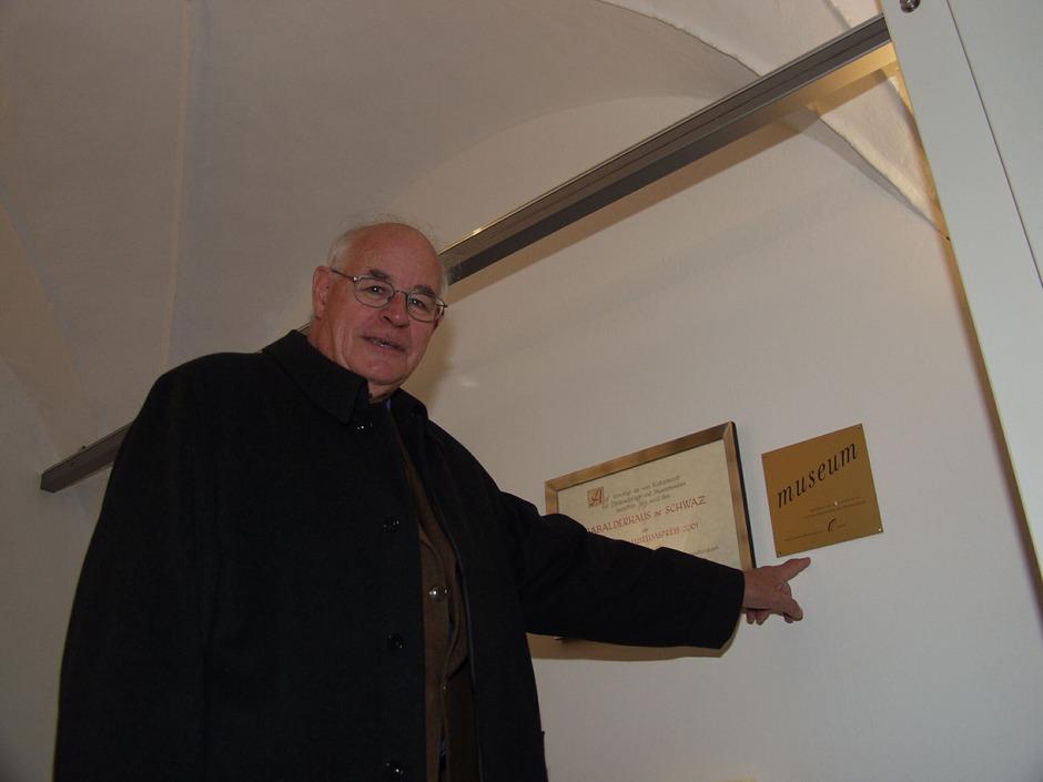Er war 23 Jahre lang das Herz und Hirn des Schwazer Rabalderhauses: Gestern ist Otto Larcher im Alter von 84 Jahren gestorben.<span class=&quot;TT11_Fotohinweis&quot;>Foto: Hörhager</span>