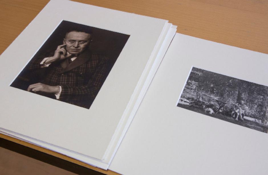 Fotos von Karl Kraus aus der Sammlung von Friedrich Pfäfflin.