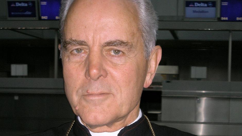 Der britische Holocaust-Leugner Richard Williamson.