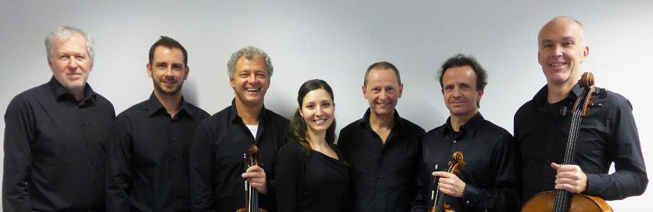 """Das Ensemble """"Academia Leopoldina"""" spielt in der Spitalskirche """"Saudade – Neukomm on tour""""."""