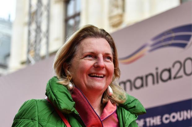Außenministerin Karin Kneissl.