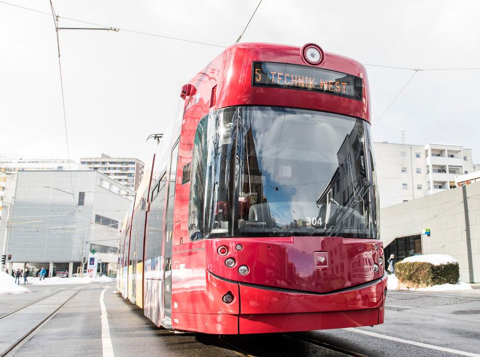 Die Tramlinien bleiben der Aufreger in Innsbruck. Gestern hielten sich die Verspätungen in Grenzen.